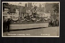 Frodsham Carnival 1925 - real photographic postcard