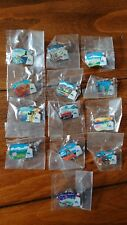 2002 SLC Olympic Torch Relay Pin Collection 13 Pins