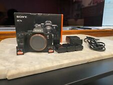 Sony A7III Mirrorless Camera BODY ONLY + Accessories
