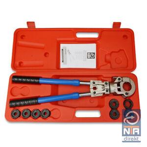 NTA Profi Presszange V-Kontur 12-22mm  +  G-Kontur 16-32mm Set Presswerkzeug HPZ