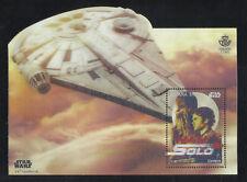 ESPAÑA Star Wars Han Solo 2018 Segunda viñeta en 3D de la Filatelia Española