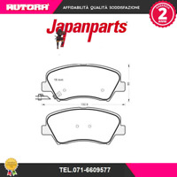 PAK24AF Kit pastiglie freno a disco ant Hyundai-Kia (MARCA-JAPANPARTS)