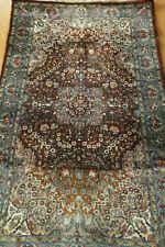antique tapis persan / Persian rug Kerman Kirman 170 X 93 cm