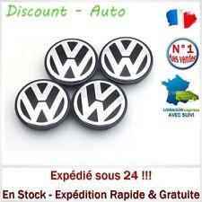 4 Centres de roue VW 55mm 1J0 601 171 Cache moyeu Emblème VW