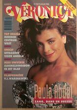 Clippings cuttings - PAULA ABDUL - Cover story dutch - S-26