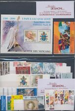 2000 Vatican, Stamps New, Year Complete, 38 Val 1 Bf 1 Booklet