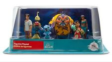 Disney Store Lilo And Stitch Figurine Playset 6 Piece Cake Toppers
