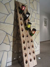 Rüttelbrett Rüttelpult Sekt Champagner Weinregal 30 Fl. Eiche massiv
