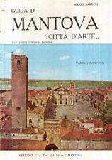 F62 Guida di Mantova Città D'arte Bardini + pianta della città