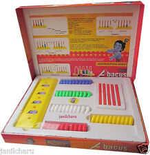 Abacus Maths Educational Game Toy add subtract  kid children student
