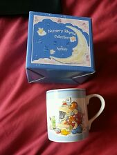 New in box Aynsley nursery rhymes collection mug christening gift