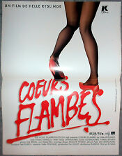 Affiche COEURS FLAMBES Helle Ryslinge KIRSTEN LEFHELDT 40x60cm