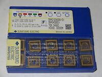 10 new SUMITOMO ELECTRIC SNMG 432-EEX AC630M Carbide Turning Inserts 120408N-EX