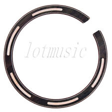 1pc Soundhole Rosette Inlay For Acoustic Guitar,Rosewood And Maple Inlay
