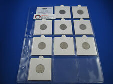 1910-1920 SIXPENCE SET (9 COINS) - VG-VF - GET IN QUICK!!