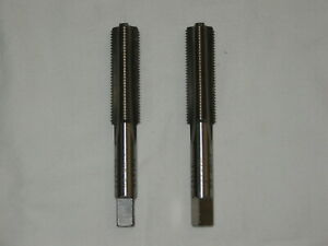 Thread Taps (Pair), Hanson Whitney, 1/2-20 Bottoming, USA, 2 For the Price of 1