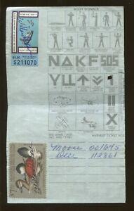 1981 Alaska Hunting Fishing License DUCK STAMP #RW48 + State Fish Stamp