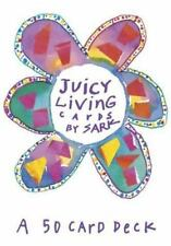 Juicy Living Cards (Large Card Decks) Sark Cards Book New