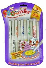 10 x Foodoodler Edible Ink Pens for Cake and Cookie Decorating - Fineliners