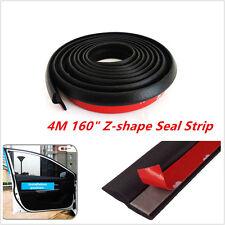 4M Z-Type Car Door Window Rubber Seal Hollow Strip Weatherstrip Sealing Strip