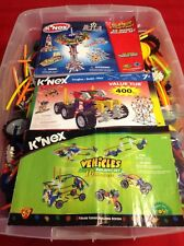 Huge Lot K'Nex 20+ Pounds With Books - Great Building & Tinker Toys