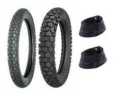 Shinko 2.75-21 & 3.50-18 244 Tires & Tubes XL125,XL175,KE125,KE175,DT125,DT175