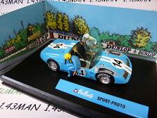 voiture altaya IXO 1/43 diorama BD MICHEL VAILLANT : SPORT PROTO n° 3