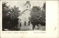 Clinton NJ Academy c1910 Postcard