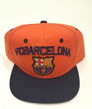 fc barcelona  football Adjustable Cap Offically Licensed FCB Snapback Cap