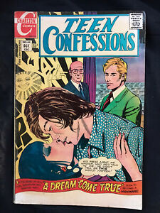 Charlton Comics Teen Confessions No. 64 1970 Comic