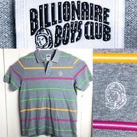 Billionaire Boys Club Men's Embroidered Astronaut Logo Polo Shirt Size XL