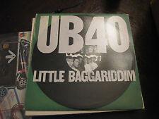 UB40; Little Baggariddim    on LP