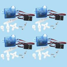 4pcs  Mini Micro 3.7g RC Servo for RC Helicopter Airplane Foamy Plane  I