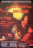 Die Grünen Teufel von Monte Cassino Filmposter A1 Joachim Fuchsberger, Balser