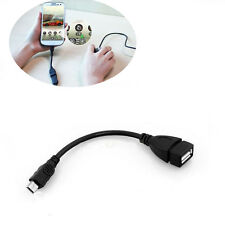 OTG Cable for Samsung Phone Notebook USB Black 2.0 to Micro USB Converter Cord