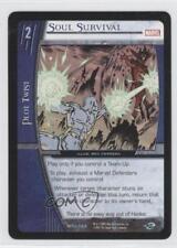 2007 VS System Marvel Team-Up Booster Pack Base #MTU-084 Soul Survival Card 3v2