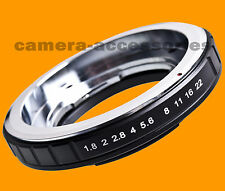 Voigtlander Bessamatic Kodak Retina DKL lens to NIKON camera mount adapter ring