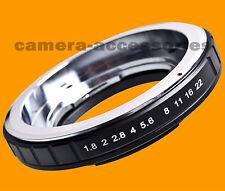 Voigtlander Bessamatic Kodak Retina DKL lens to NIKON camera mount adapter ring