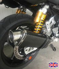 Yamaha XJR1300 07-16 SP Engineering Carbon Fibre Tri-Oval Big Bore XLS Exhaust