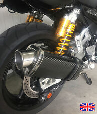 Xjr1300 07-15 Sp de ingeniería de fibra de carbono Tri-oval Big Bore Xls De Escape