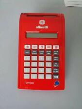 Olivetti Form 100 Registratore di Cassa - Rosso (B3443000)