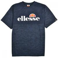 Ellesse Mens Logo T Shirt Blue Canzi Large