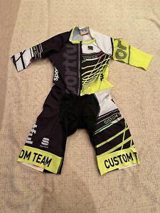 SPORTFUL Cycling Short Sleeve Skinsuit BRAND NEW ORIGINAL SIZE M For Men