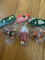 Midwest Importers 1983-85 Ornament Teddybear Lot Brand New In Package! Christmas