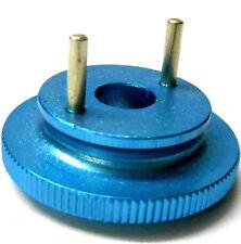 L4267 1/10 O 1/8 Scale Rc Motor Nitro 2 Zapatos Pin Embrague volante de inercia de aleación Azul