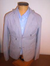Jack & Jones 100% Cotton Hoodie Tattersall Sport Coat Hit Blazer NWT Slim Fit XL