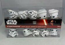 New Disney Star Wars Stormtrooper Holiday Light Set Helmets Kurt Adler Helmet