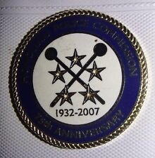 "HONOLULU HAWAII POLICE COMMISSION 75th ANNIVERSARY PIN 1"" ROUND 1932-2007"