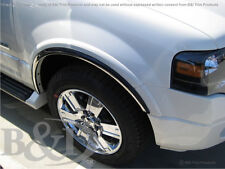 CHROME FENDER TRIMS FITS FORD EXPEDTION 2007-2017 (WITH FENDER FLARES)