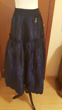 MAXI NIGHT OUT SKIRT DARK BLUE MADE IN PORTUGAL